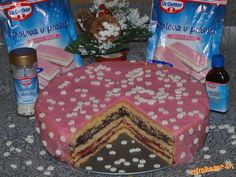 PUNČOVÁ TORTA Birthday Cake, Food, Birthday Cakes, Essen, Meals, Yemek, Cake Birthday, Eten