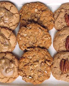 Maple-Walnut Oatmeal Cookies Recipe