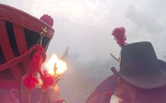 Battle of Waterloo relived: the sound a fury of a Napoleonic war re-enactment
