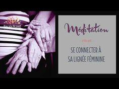 Méditation pour se connecter à sa lignée féminine - YouTube Meditation Mantra, Les Chakras, Physique, Affirmations, Attitude, Zen, Yoga, Videos, Holistic Medicine
