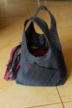 Denim bag Denim Bag, Bags, Fashion, Jean Bag, Handbags, Moda, Fashion Styles, Fashion Illustrations, Bag