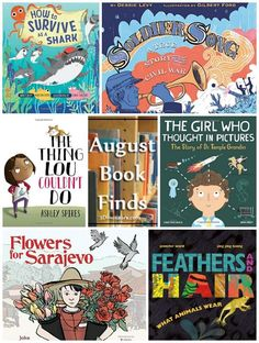 Great Book Finds for August 2017: war, heros, courage, sharks, autism, fear, animals  - 3Dinosaurs.com