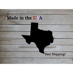 Texas State State Decor Sec State Texas Texas Decor Home Decor... ($26) ❤ liked on Polyvore featuring home, home decor, wall art, home & living, home décor, red, wall décor, wall hangings, door signs and outside home decor