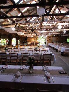 View inside barn from front left side. Khimaira Farm wedding venue Shenandoah Valley Blue Ridge Mountains Luray VA