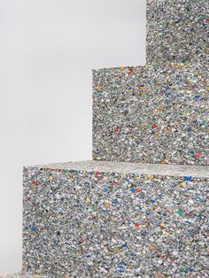 Concrete texture Terrazzo, Cement Steps, Concrete Texture, Precast Concrete, Finishing Materials, Shape And Form, Material Design, Recycled Materials, Textures Patterns