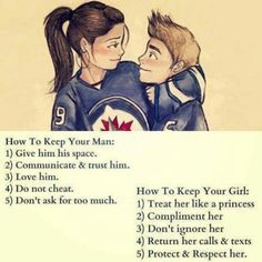 How to keep your man/girl