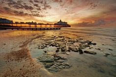 Eastbourne Pier at Sunrise by Keith Lancaster on 500px