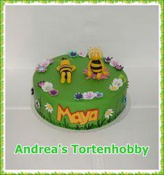 Biene Maja Torte, bee Maja cake