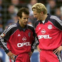 """Mehmet Scholl & Stefan Effenberg, Bayern #old_school_football"""