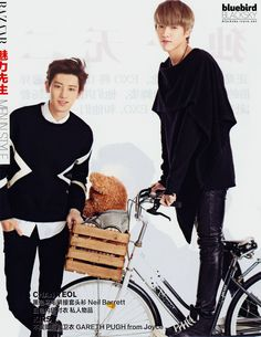 Chanyeol and Kris for Harper's Bazaar