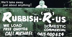 We are the best Rubbish Removals in Oyster Bay. Our services include Rubbish removal, Deceased estates, Builders waste, Bobcat and attachment hire and Tree lopping and yard clearing.