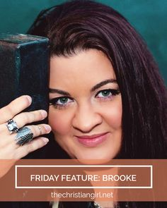 Head to the site to read our interview with Brooke, owner of the lovely Hymn Drop Shoppe! | www.thechristiangirl.net