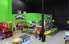 cafe at Launch Trampoline Park - Hartford, CT
