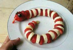 #comida #criança #criatividade #original #fruta