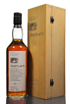 Mortlach 16 Year Old - Flora & Fauna - Lot ID: 641 - Rich mouth, filled with bee's honey, nuttiness, caramel, raisins and well mixed malt. Delicious!