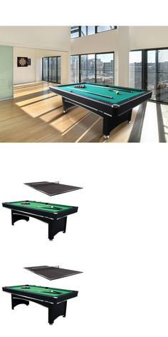 Tables 21213: Penelope Pool Table 8Ft. W/ Dining Top BUY IT NOW ONLY:  $2201.0   Tables 21213   Pinterest   Pool Table And Tables