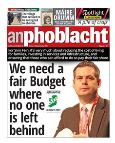 An Phoblacht, October 2016  October 2016 edition of An Phoblacht - the Irish Republican newspaper. Published in Dublin.