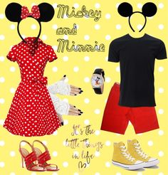 fa30282b2 18 Best Mickey and Minnie costumes :) images | Costume ideas, Mickey ...