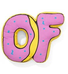 306a3d83b5a9e3  100 Odd Future OF Donut Pillow Odd Future Clothes