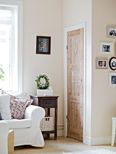 Bedside Wall Trim, Oak Doors, My Ideal Home, Antique Doors, Double Doors