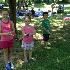 Teddy Bear Picnic fun! Thanks to the Three Village Garden Club for a great program!