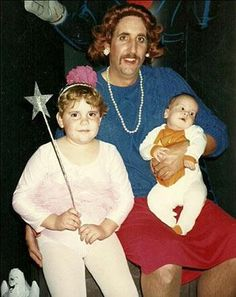 """Susie... put that wand down... look what you did to your """"mother""""."""