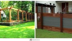 54 DIY Fence Garden Design with wood pallets Old Fences, Diy Fence, Cedar Fence, Garden Fencing, Red Cedar, Wood Design, Wood Pallets, Garden Design, Outdoor Structures
