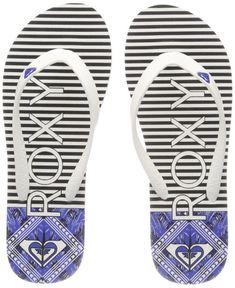 8074b4efe Roxy Women s Tahiti Vi Flip Flops