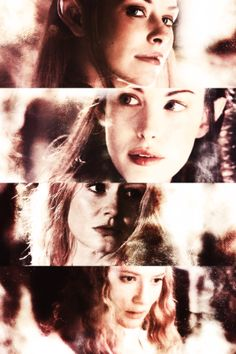 LOTR Ladies: Tauriel, Arwen, Eowyn, Galadriel