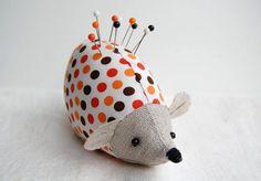 hedgehog pincushion!