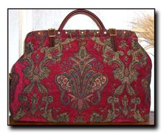 Carpet bags make amazing diaper bags! they are smaller but can hold alot of stuff! Pluse they stong and look great!