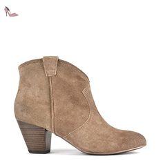 Ash Jalouse Boots aus Wildleder Damen 37 EU Topo - Chaussures ash (*Partner-Link)