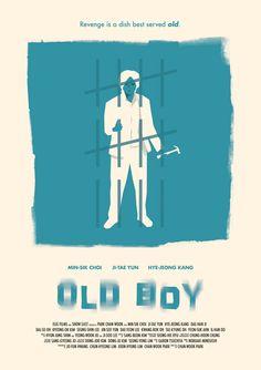 Movie Poster: Oldboy by Dee Choi