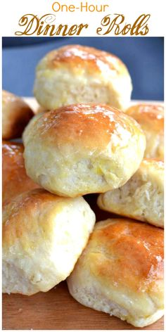 Soft and savory homemade rolls that are ready in just an hour. A perfect side dish with any meal!