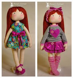 Zakatek Anny: Zuzia lalka nie duża ... :)