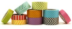 #papercraft #deals from Peachy Cheap: 10 rolls of washi tape for just $6.99!!! Great stocking stuffers for papercrafting friends and kids!