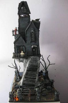 Dollhouse Minis: The Vampire Mansion ~ Tom Dombroski