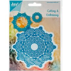 Joy! Crafts Cutting Die-Circle #EcstasyCrafts