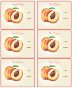 These are really cute canning jar labels designed by Ira Pavlovich. Use on your cans, jars and other containers you are using for your homemade jams (fruit preservatives): Cherry, Blueberry, Strawberry, Mix-berries, Apricot, Raspberry, Grape, Peach and Marmalade. Ira also draw the different fruits for the labels.. great work -:) For ...