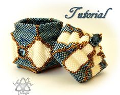 Beaded Box Pattern, Arabesque, Peyote Stitch Box with Lid, pdf Tutorial, English only. Jewelry Making Tutorials, Beading Tutorials, Beading Ideas, Box Patterns, Beading Patterns, Stitch Box, Decorative Beads, Beaded Boxes, Peyote Beading