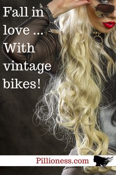 How can you NOT fall in love with vintage motorcycles? What's not to love? Cool Motorcycles, Vintage Motorcycles, Indian Motorcycles, Vintage Bikes, Falling In Love, Posts, Blog, Projects, Women