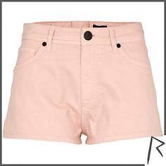 Rihanna for River Island zip back knicker shorts #riverisland