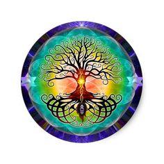 Tree Of Life Classic Round Sticker