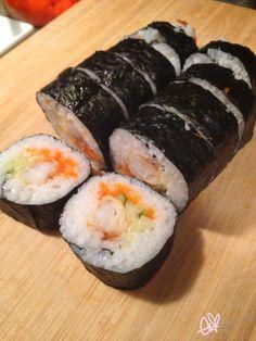 ekiBlog.com: Tutorial: Shrimp Tempura roll!