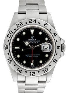 Rolex Stainless Steel Explorer II Watch, 40mm
