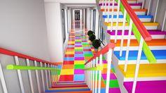 Проект: Административный коридор детского сада   bocadolobo.com   #россия #интерьер #изысканныеместа #дизайнинтерьер