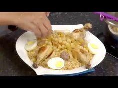 تليتلي بالجاج ومرقة بيضاء مع السيدة بن بريم + موسكوتشوTlitli sauce blanche+Mouskoutchou - YouTube