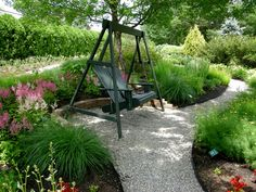 I like the nook for a swing along the path----stop and enjoy the scene awhile!  CAROLYNS SHADE GARDENS