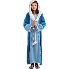 Biblical Virgin Mary Kids Costume Large(12-14) Forum http://smile.amazon.com/dp/B0058O7K3I/ref=cm_sw_r_pi_dp_gKCzwb187VCJH