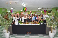Our brilliant catering team provided a superb Christmas dinner for our boarders and campus residents - December 2016